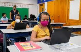 masks in computer class